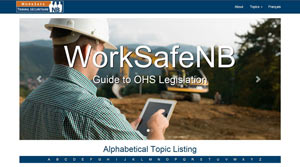 WorkSafeNB Guide to OHS Legislation
