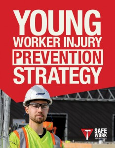 SAFE Work Manitoba - Young Worker Injury Prevention Strategy Cover