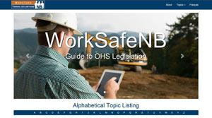 WorkSafeNB Guide to OHS Legislation